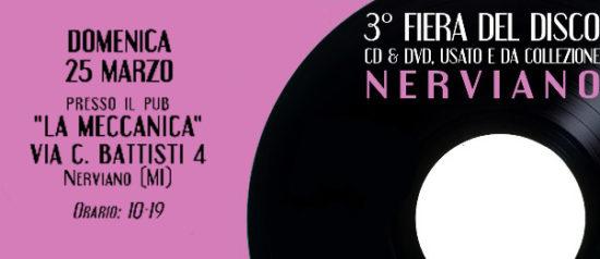 3^ Fiera del disco a La Meccanica a Nerviano