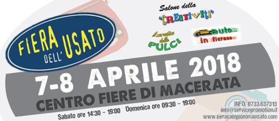 Usa l'usato - Fiera Campionaria dell'usato aprile 2018 al Centro fiere di Macerata