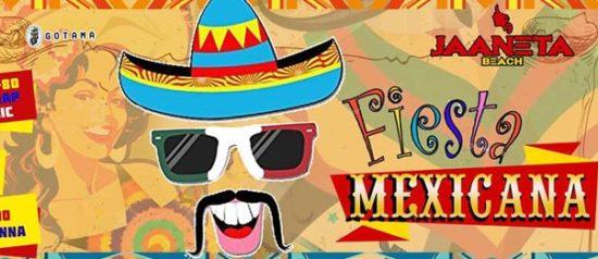 Fiesta Mexicana al Jaaneta Beach a Giardini Naxos
