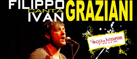 Filippo Graziani canta Ivan Graziani al Teatro Villa a San Clemente