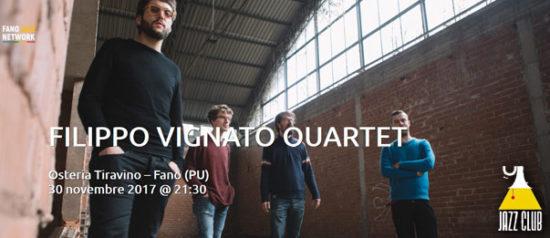 "Jazz Club ""Filippo Vignato Quartet"" all'Osteria Tiravino a Fano"