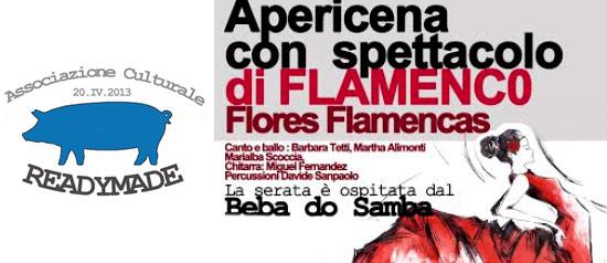 FLORES FLAMENCAS serata di Flamenco