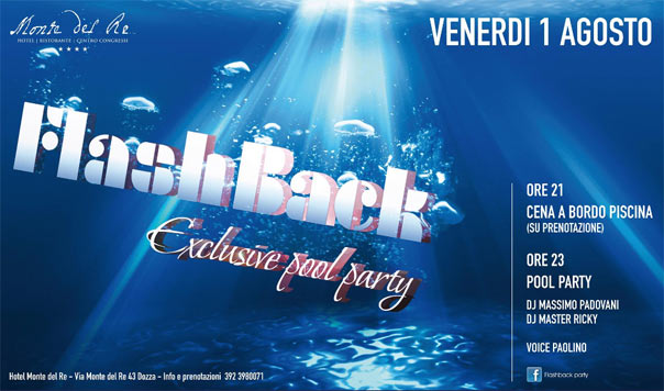Flashback Exclusive Pool Party a Dozza