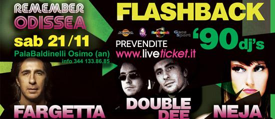 Flashback 90 Fargetta-Double dee-Neja al PalaBaldinelli di Osimo
