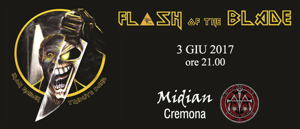 Flash of the blade al Midian Live Pub di Cremona