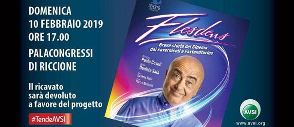 """Paolo Cevoli """"Flesdens"""" al Palariccione a Riccione"""