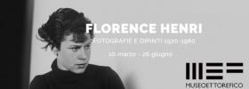 """Florence Henri """"Fotografie e dipinti 1920-1960"""" al Museo Ettore Fico a Torino"""