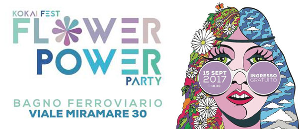 Flower power party a bagno ferroviario a trieste live in italia - Bagno ferroviario trieste ...