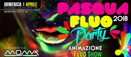 Pasqua Fluo Party alla Discoteca Momà di Collecorvino