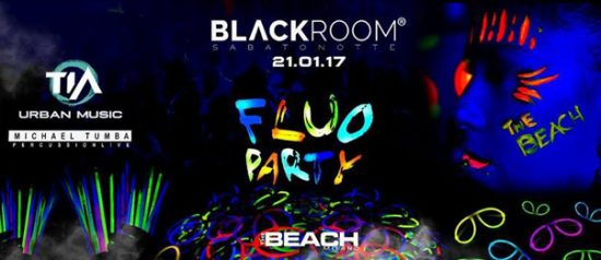 Fluo Party al The Beach a Milano