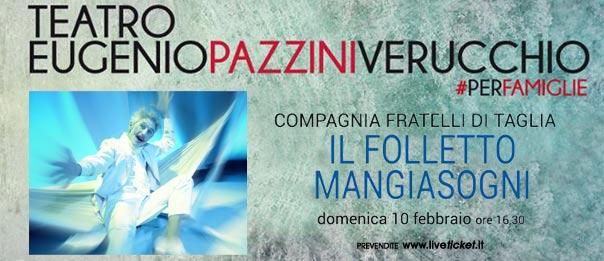 Il Folletto mangiasogni al Teatro Eugenio Pazzini di Verucchio