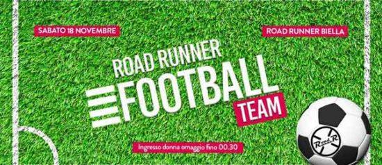 Football team al Road Runner di Biella