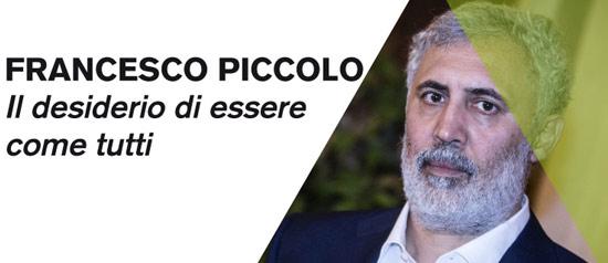 """Francesco Piccolo """"Il desiderio di essere come tutti"""" a Castelbasso"""