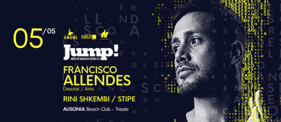 Jump with Francisco Allendes all'Ausonia Beach Club di Trieste