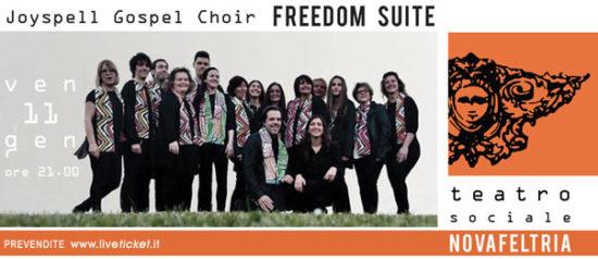 Joyspell Gospel Choir - Freedom Suite al Teatro Sociale di Novafeltria