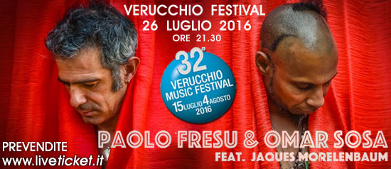Paolo Fresu & Omar Sosa feat Jaques Morelenbaum