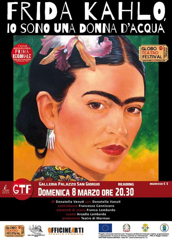 Frida Kahlo Io sono una donna d'acqua