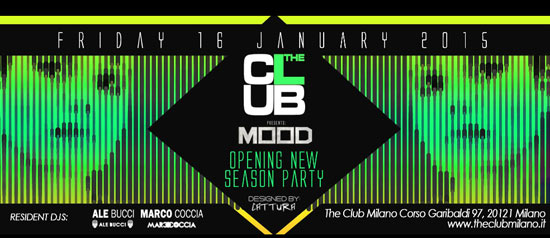 Opening New Season Party at The Club Milano