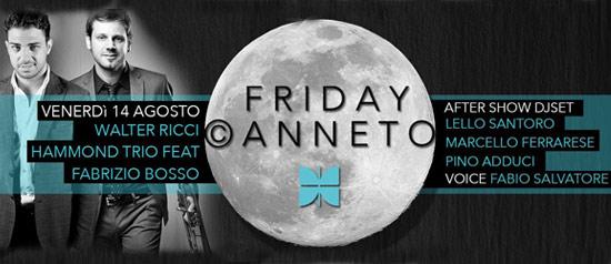 Fabrizio Bosso e Walter Ricci Hammond trio in concerto al Canneto Beach