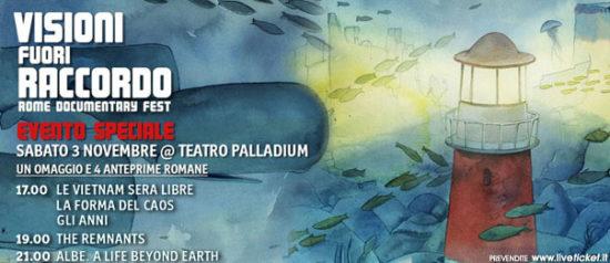 """Evento Speciale """"Visioni Fuori Raccordo"""" al Teatro Palladium a Roma"""