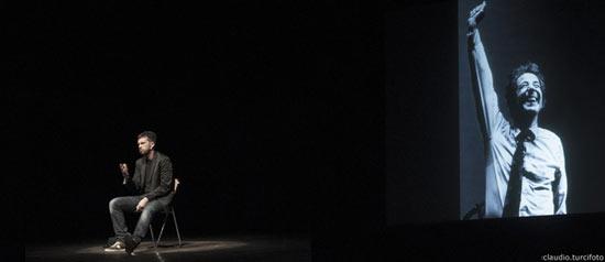 """Andrea Scanzi """"Gaber se fosse Gaber"""" al Teatro Martinetti di Garlasco"""
