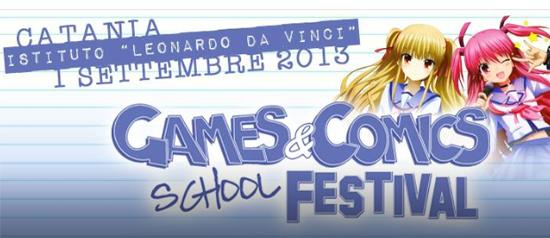 Games&Comics School Festival 2013