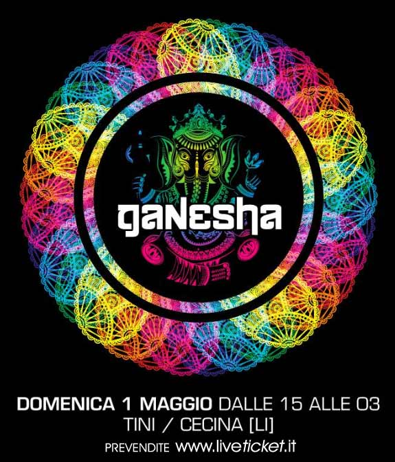 Ganesha 2016 - Open air in daytime al Tini' Soundgarden di Cecina