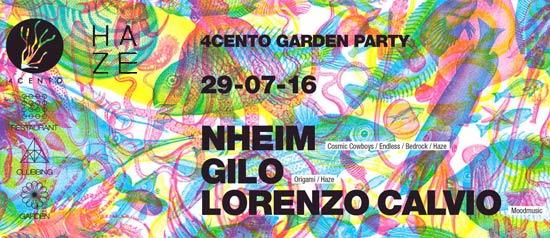 4cento Garden Party al Ristorante 4cento di Milano