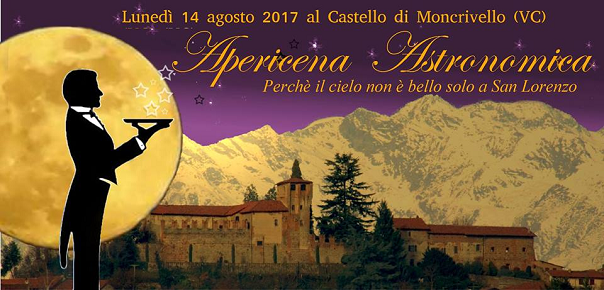 Apericena Astronomica al Castello di Moncrivello