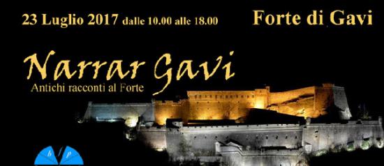 """""""Narrar Gavi"""" al Forte di Gavi"""