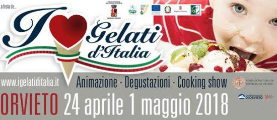 I Gelati d'Italia in Piazza Duomo a Orvieto