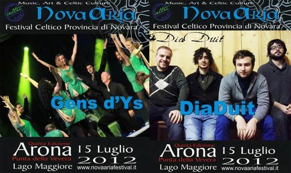 """""""NovAria 2012"""" Festival Celtico della Provincia di Novara"""