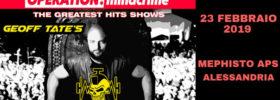 Geoff Tate - Operation: Mindcrime - The Greatest hits show al Mephisto Asp ad Alessandria