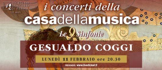 Gesualdo Coggi alla Casa della Musica a Parma