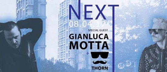 Next presenta: Gianluca Motta e Thorn a Yago Pleasure Club di Sassuolo