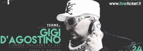 Gigi D'agostino - L'amour Toujours Djset - a Eventi Terme Disco Lounge di Bagno di Romagna