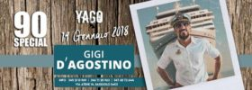 Special 90 Gigi D'agostino show a Yago Pleasure Club di Sassuolo