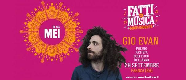 Gio Evan - Evento Esclusivo al MEI al Teatro Masini di Faenza