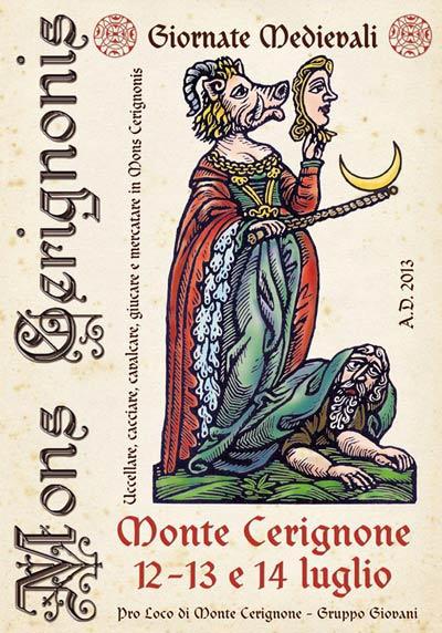 Mons Cerignonis Giornate medievali a Monte Cerignone.