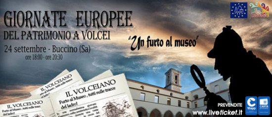 """""""Un furto al museo"""" Giornate Europee del Patrimonio al Museo Archeologico Nazionale di Volcei a Buccino"""