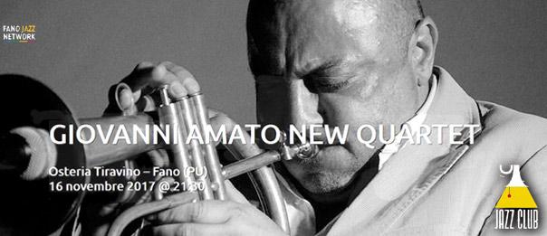 "Jazz Club ""Giovanni Amato new quartet"" all'Osteria Tiravino a Fano"