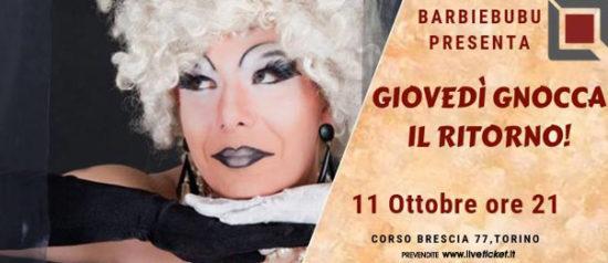 Giovedì Gnocca...il ritorno! al Q77 di Torino