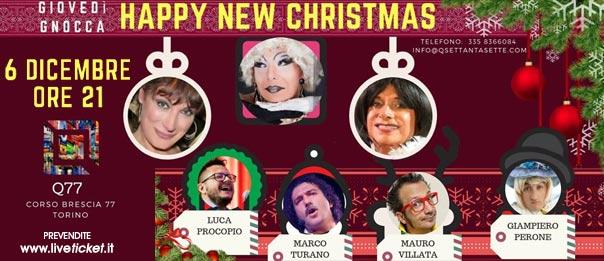 Giovedì gnocca...Happy New Christmas! al Q77 di Torino