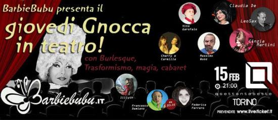 BarbieBubu presenta: Giovedì gnocca theater! al Q77 di Torino