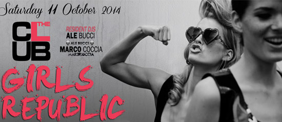 Girls Repubblic at The Club Milano