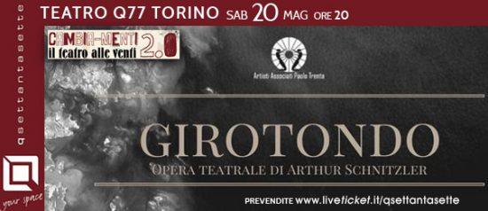 """""""Girotondo"""" di Arthur Schnitzler al Q77 di Torino"""