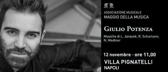 Giulio Potenza a Villa Pignatelli a Napoli
