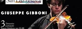 Giuseppe Gibboni al San Leo Festival 2016 a San Leo