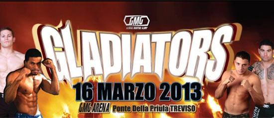 Gladiators One al GMG Arena Ponte della Priula a Susegana