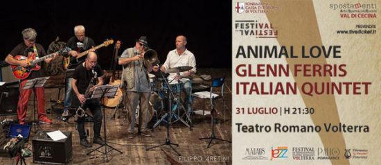 Glenn Ferris Italian Quintet al Teatro Romano a Volterra